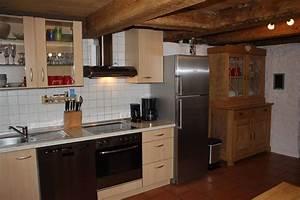 Küchenzeile Mit Kühlschrank : ferienhaus erdgeschoss k chenzeile mit gro em k hlschrank mit gefrierfach und oma 39 s ~ Sanjose-hotels-ca.com Haus und Dekorationen