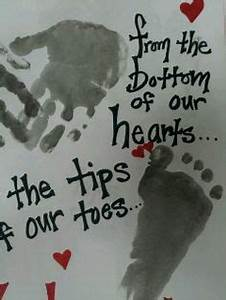 Handprint Hugs on Pinterest