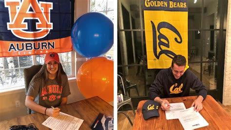 national signing day photo gallery college soccer