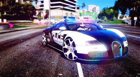 Bugatti Veyron Police Gta5 Modscom
