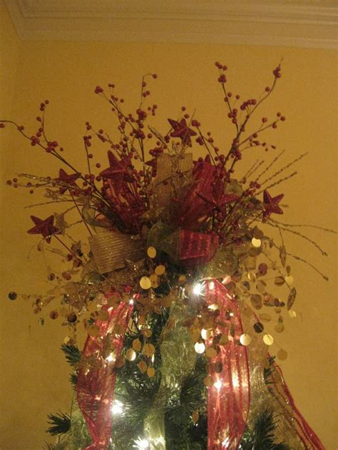 kristen s creations how to make a tree topper bow