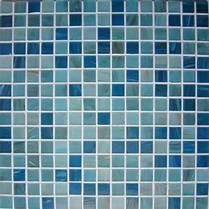 Mosaique Pour Salle De Bain : ptes de verre bleu avec aventurine sofia concept mosaque ~ Premium-room.com Idées de Décoration