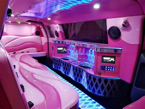 pink dream  passenger chrysler limo limo service