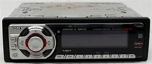 Sony Cdx-f5500 Aftermarket Used 52 Watts X 4 Cd Player Xm Ready 2 Rca Preout