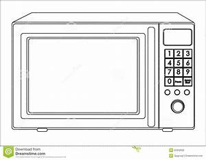 Microwave clipart - Clipground