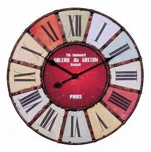 Große Wanduhr Vintage : finebuy wanduhr xxl 60 cm galerie k chenuhr vintage look bahnhofsuhr modern r mische ziffern ~ Indierocktalk.com Haus und Dekorationen