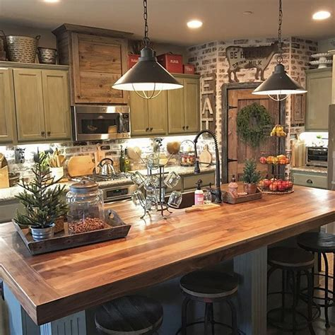 Awesome Best 25 Rustic Kitchen Decor Ideas On Pinterest