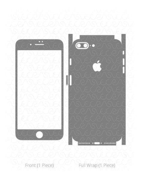 iphone 7 template apple iphone 7 plus vinyl skin cut file template 2016 vecras