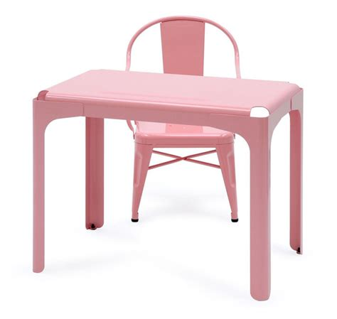 chaise bureau industriel rhino children 39 s desk childrens desk light pink by tolix