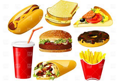 cuisine fast food fast food clip id 62237 buzzergcom fast food