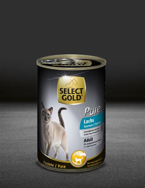 select gold pure adult lachs select gold