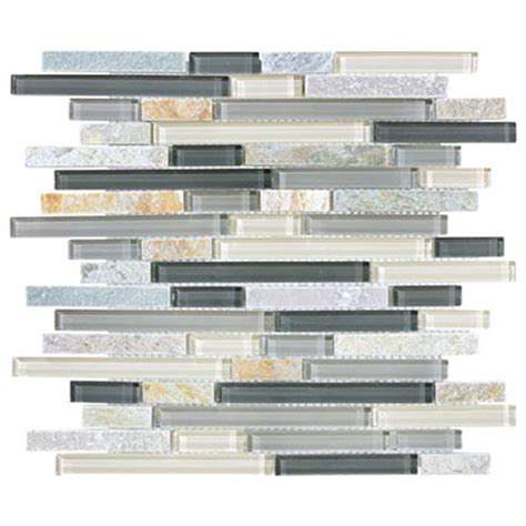 florida tile pietra bliss random mosaic 12 x 12 tile