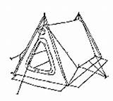 Tent Campcraft Sheets Activity Skills Camping Scouts sketch template