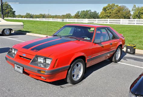 Auction Results And Data For 1986 Ford Mustang (svo, Gt