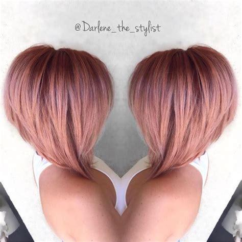 Rose gold hair color   AboutWomanBeauty.com