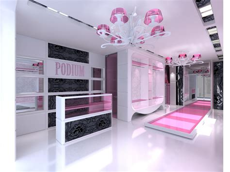 decors archive podium s clothing boutique in u s a design by musienko