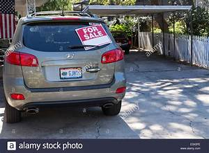 Used Car For Sale by Owner, USA Stock Photo 71256626 Alamy