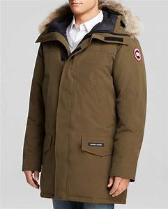 Canada Goose Langford Parka With Fur Hood In Green For Men Lyst