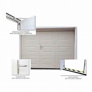 Devis en ligne porte de garage sectionnelle sur mesure for Porte de garage devis en ligne