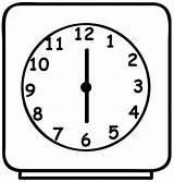 Clock Coloring Alarm Colorear Dibujos Imprimir Relojes Imagenes Coloringsky Despertadores Desenho Colorir Reloj Desenhos Relogio Memorias Mi Calcar Cozinha Pintar sketch template