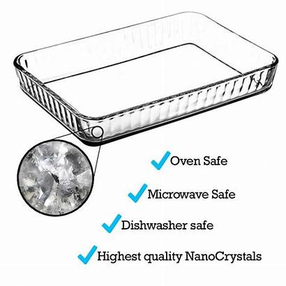 Oven Glass Baking Dishes Casserole Mince
