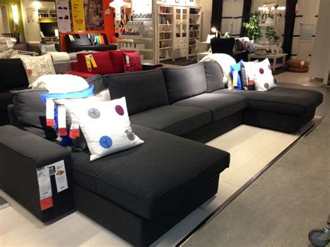 Kivik At Ikea To Chaise Sides With Arms And Middle Section