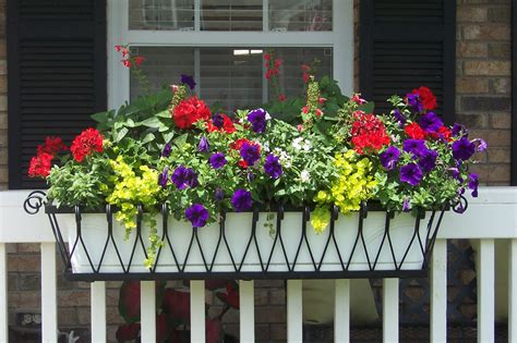 Planters Awesome Home Depot Window Box Wooden Window