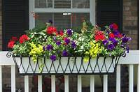 flower boxes for windows Planters. awesome home depot window box: Window boxes, Flower boxes, Exterior shutters, Hanging ...