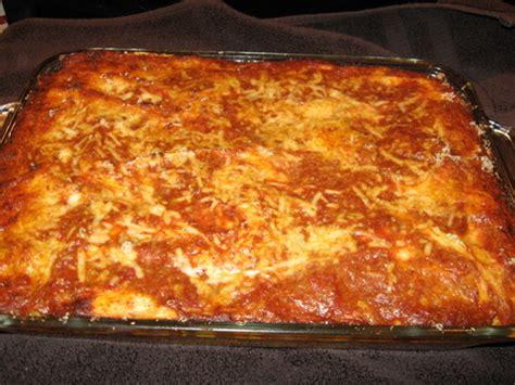 Tony's Best Lasagna  Busy Nothings