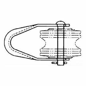 hubbell power systems 0352 chancer insulator clevis steel With hubbel home wiring system a brochure