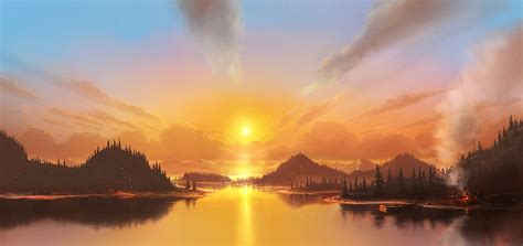 magnifique paysage fascinant regardez milieux hd gratuits