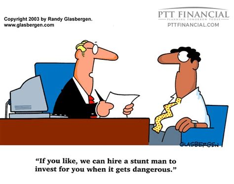 Financial Planning Cartoon - Investments