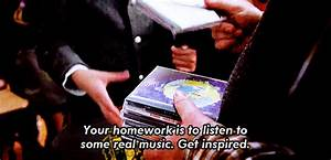 your homework is to listen to some real music get inspired ...