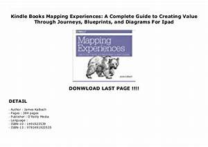 Kindle Books Mapping Experiences  A Complete Guide To