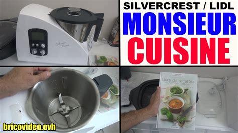 monsieur cuisine lidl silvercrest plus livre recette skmh 1100 a1 k 252 chenmaschine