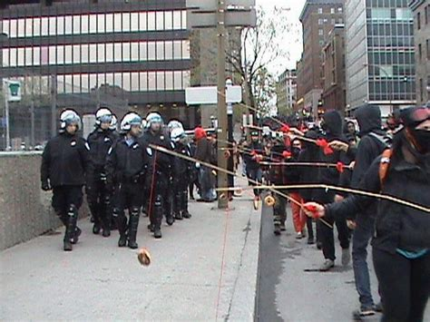 funny pic  todays protests  montreal
