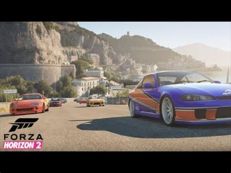 horizon cing car forza horizon 2 fast and furious car show cruise drag and track racing more