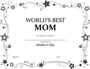 worlds  mom certificate  small business  forms