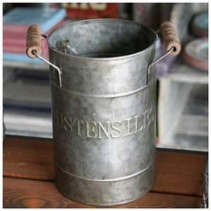 Pot A Ustensile : pot ustensile decoration cuisine antic line boutique cosy deco ~ Teatrodelosmanantiales.com Idées de Décoration
