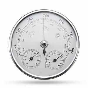 Wall Hanging Weather Forecast Thermometer Hygrometer Air