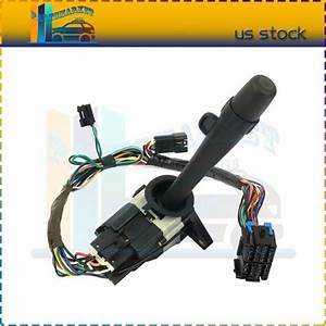 New Turn Signal Wiper Dimmer Switch Fits 2000