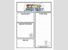 13+ Printable Preschool Newsletter Templates Free Word
