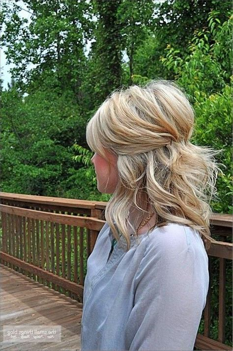 24 lovely medium length hairstyles for fall weddings