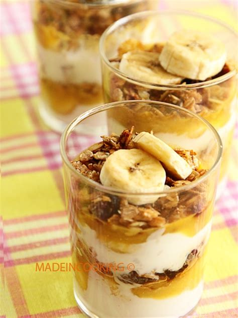 dessert a la banane
