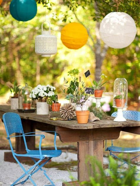 colourful garden decorations make yourself how can you