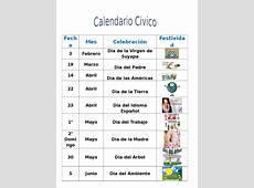 Calendario Civico Act 205