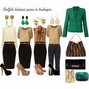 Outfits bu00e1sicos para ir a trabajar | Pinterest | Polyvore Ejecutivo y Oficinas