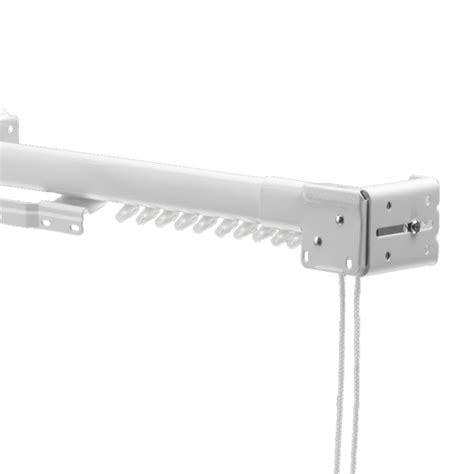 swish ultrak metal extendable corded curtain track set white
