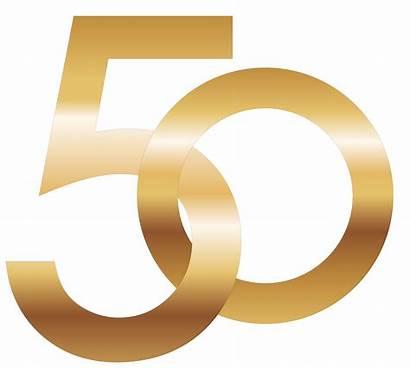 Number Transparent 50th Filo 1000