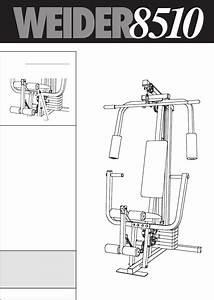 Weider Home Gym 8510 User Guide